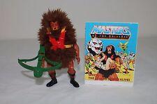 Grizzlor -1985/Taiwan- (Masters of the Universe) 100% komplett mit Mini Comic