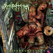"REGURGITATION ""Clitoraldectomy"" death metal CD"