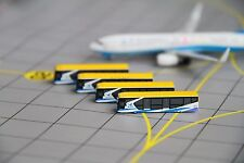 Aeroclassics 1/400 Airport GSE Set of 4 Shuttle Buses Xiamen Airlines