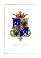 Araldica Stemma araldico della famiglia Prina di Novara