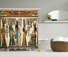 Ambesonne Egyptian Decor Collection, Egyptian Papyrus Depicting Queen Nefertari