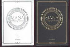 2 DECKS Mana Indigo & Zinfandel playing cards