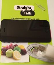 Apple iPhone 5 16GB (Straight Talk - AT&T) Black & Slate Smartphone Bundle (A)