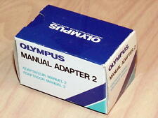 OLYMPUS OM-88 OM-101 MANUAL ADAPTER 2 NEW IN BOX