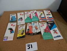 12 x Official London 2012 Olympic games pin badges including LTD Editions set 31