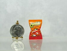 Dollhouse Miniature Handcrafted Cheese Snack Bag