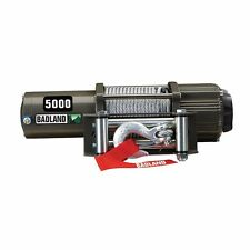 5000 lb. ATV / Utility Electric Winch with Automatic Load-Holding Brake remote