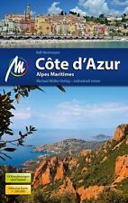 REISEFÜHRER Côte d'Azur Auflage 2015/16 MICHAEL MÜLLER VERLAG, wie neu UNGELESEN