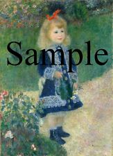 Auguste Renoir A Girl with a Watering Can High Res Digital Image JPEG 2905X4000
