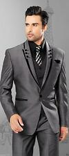 Slim Fit Best Men Groom Suit Tuxedos Formal Groomsmen Wedding suits Custom Made