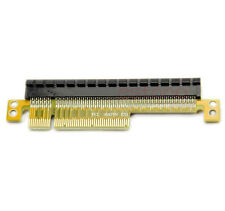 1PC PCI Express Riser Card x8 to x16 Left Slot Adapter For 1U Servers