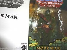 MASTERS OF THE UNIVERSE CLASSICS  HARDER TO FIND MOSS MAN MIB