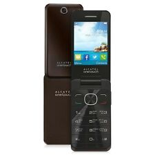 ALCATEL 20.12, CHOCOLATE, UNLOCKED, BRAND NEW/BOXED, UK STOCK, TALK/TXT PHONE