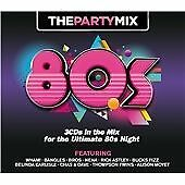 The Party Mix 80s (2013) 3 CD Box Set (Non Stop 1980s Music (Wham, Rick Astley..