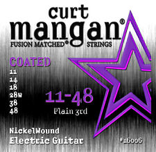 Curt Mangan 11-48 Stainless Steel Electric Guitar Strings