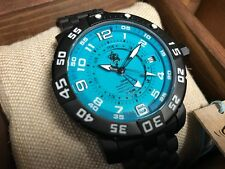 Limited Edition Invicta Sea Base Automatic GMT Aqua Dial - Model 14277