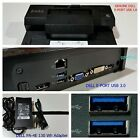 Dell E-Port USB 3.0 Docking Station Replicator PR03X Adapter E6520 E6420 E5520