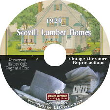 1929 Scovill Lumber Home Plans Catalog { Colorful Home Design Ideas } on DVD