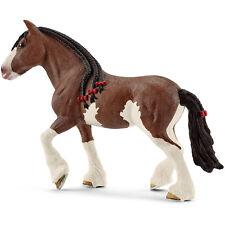 Schleich Farm Life Clydesdale Mare Cavallo Figura Nuovo