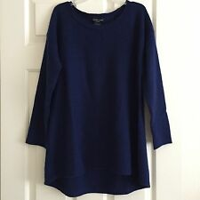 SUTTON STUDIO BLOOMINGDALES 100% 2-ply CASHMERE SWEATER Size S NWT