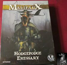 Malifaux 2E WYR20532 Outcasts Hodgepodge Emissary (1) Miniature Peddler of Fate