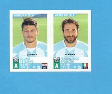 PANINI CALCIATORI 2015-2016- Figurina n.814- PETKOVIC+SFORZINI -V.ENTELLA-NEW