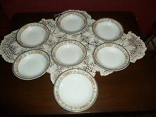 "7 W. H. Grindley China ""The Victory"" Fruit Bowls! Lovely!"
