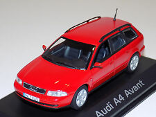 1/43 Minichamps Street Audi A4 Avant in Red Dealer Edition