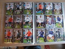 CARD EURO 2008 PANINI ACTION= LOTTO DI 136  CARDS TUTTE DIVERSE
