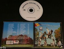 ROMANIAN FOLKLORIC DANCES Complete Music CD Hard To Find Slightly Used Import