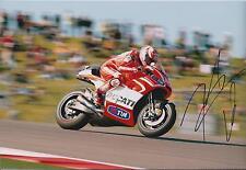 Nicky HAYDEN SIGNED Autograph MotoGP Kentucky KID Ducati 12x8 Photo AFTAL COA