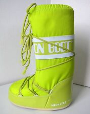 Tecnica MOON BOOT Nylon lime Gr. 31 - 34  Moon Boots Moonboots lind grün neon