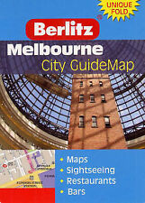 Berlitz Melbourne Guidemap City Guide Map