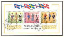 """DK FÄRÖER 1983 Einweihung des neuen Kulturhauses """"Haus des Nordens"""", Tórshavn O"""