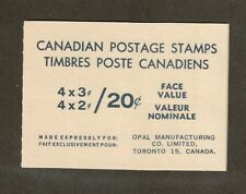 Canada Scott 455A -  20 Cent -  Stamp Booklet        #02 CAN455A