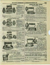 1932 PAPER AD Dover Asbestos Charcoal Royal Gas Gasoline Coleman Sad Irons