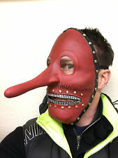 Slipknot Style Chris Fehn Mask Latex Long Nose Zipper Face Fancy Party Masks
