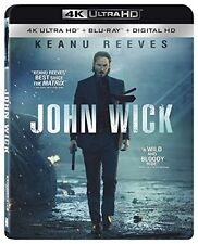 JOHN WICK (4K ULTRA HD) - Blu Ray -  Region free