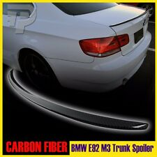 CARBON FIBER BMW E92 COUPE M3 TYPE BOOT TRUNK SPOILER 330i 328i ▼