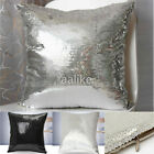 Sequins Decoration Cushion Comfortable Pillow Cover Cases Throw Bed Sofa 42x42cm
