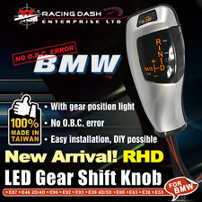 BMW LED Shift Gear Knob E63E82E84 E85E86 E90 position light right hand drive RHD