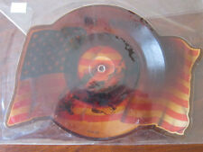BRUCE SPRINGSTEEN Shaped picture disc Born in the USA I'm on fire