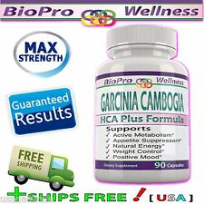 Best Pure GARCINIA CAMBOGIA EXTRACT ULTRA  Lose Weight  Metabolism Booster Pills