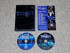 Tron 20th Anniversary Collectors Edition DVD 2002 Complete 2-Disc Set