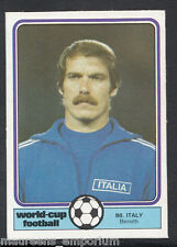 (ZZ) Monty Gum World Cup 1982 Football Card No 88 - Benetti - Italy