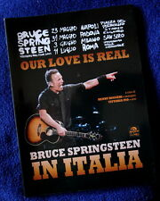 Our love is real Bruce Springsteen in Italia HENRY RUGGERI ARCANA libro no lp