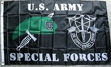 US ARMY SPECIAL FORCES DE OPPRESSO LIBER POLYESTER MILITARY FLAG  3 X 5 FEET