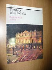 TEATRO ALLA SCALA STAGIONE LIRICA 1969/1970 SPETTACOLO DI BALLETTI PAQUITA ECC..