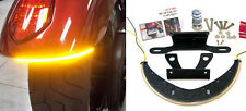 Victory Vegas LED Fender Turn Signal Kit w/ Tag Light and Bracket - Clear Lens