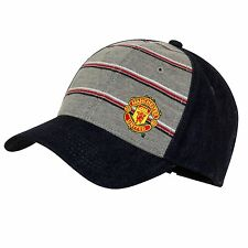 Manchester United FC Official Football Gift Denim Baseball Cap